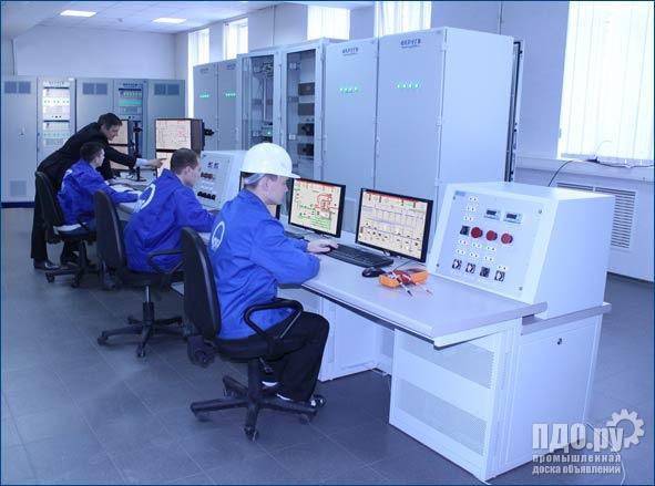 АС управления газотурбинных установок ТЭЦ
