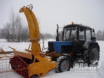 Снегоочиститель фрезерно-роторный снф-200 для мтз