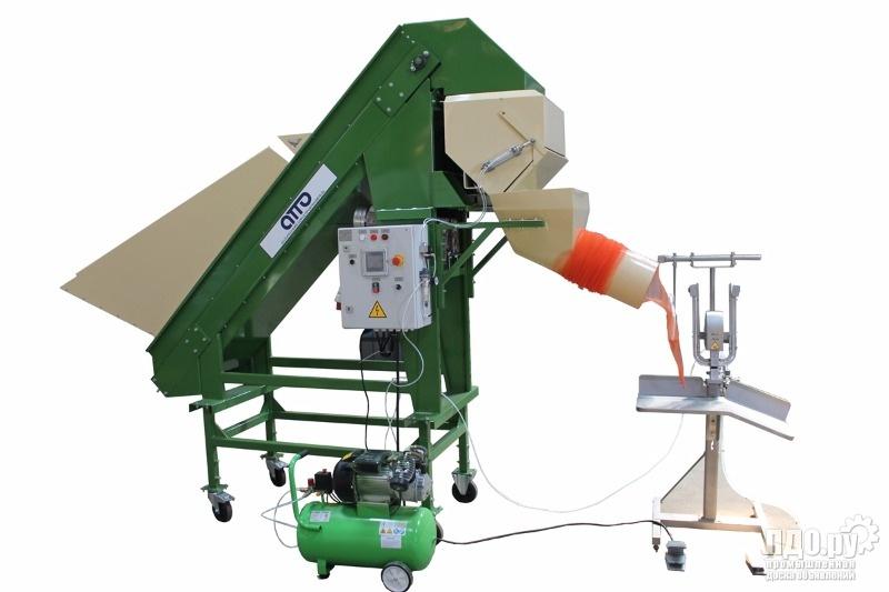 оборудование для фасовки упаковки овощей, картофеля, лука, моркови, корнеплодов, фруктов УД-5