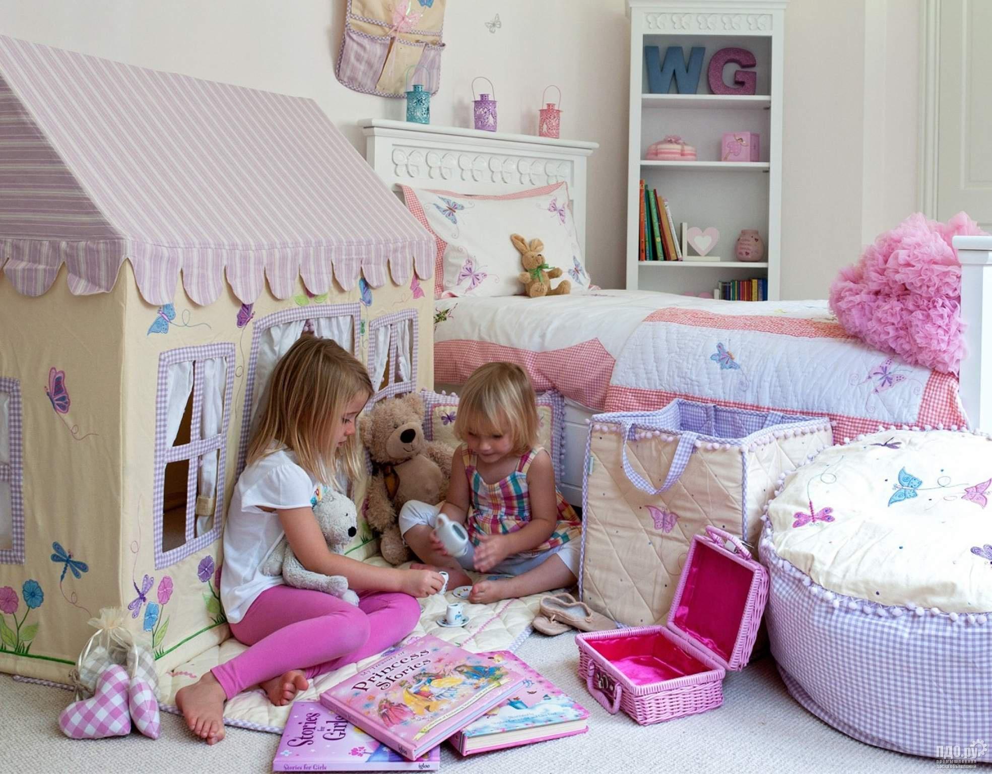 Игровой домик для детей из ткани