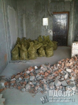 вывоз строительного мусора в мешках т 464221 Саратов