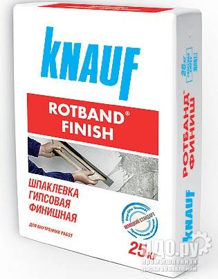 Штукатурка гипсовая Ротбанд 30кг.с доставкой по Москве и Московской обл.