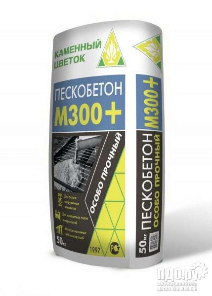 Сухая смесь М-300 пескобетон с доставкой по Москве и Московской обл.