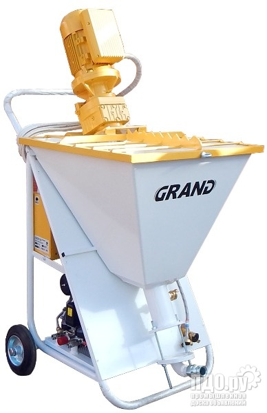 Штукатурная станция Grand 3 широкого применения