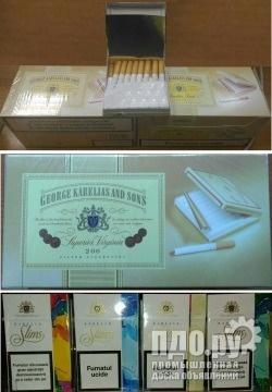 Купить сигареты европейские в москве отчет об ингредиентах табачных изделий