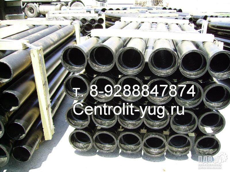 Трубы чугунные канализационные ГОСТ 6942-98