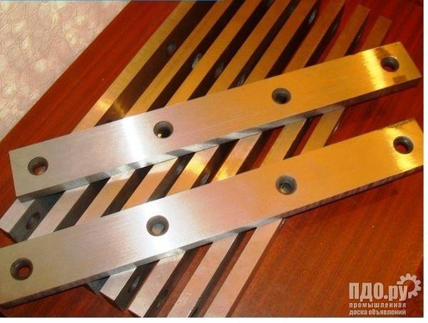 Купить ножи для гильотинных ножниц размер 510х60х20мм в наличии. Тульский Промышленный Завод.