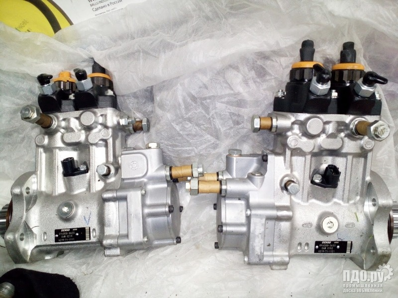 Новые ТНВД Komatsu 6219-71-1111, injection fuel pump