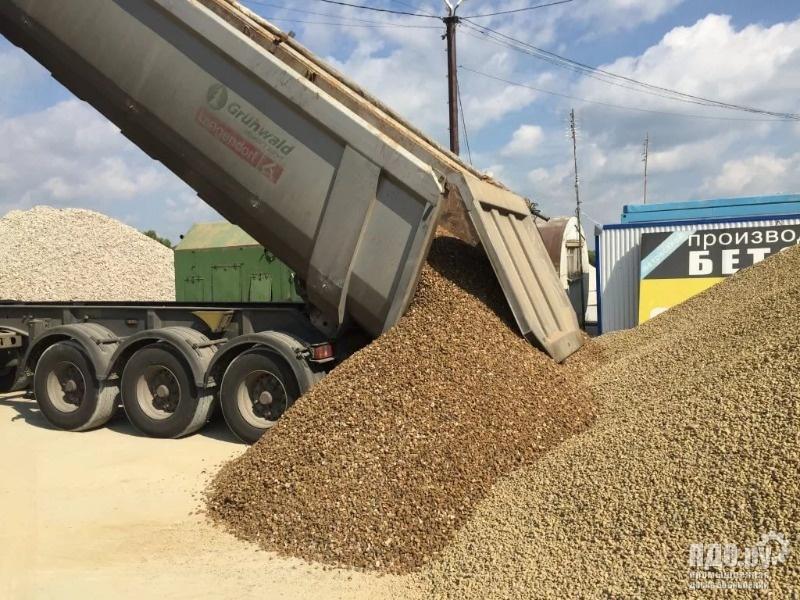 Щебень, песок, отсев, ГПС, ПГС, гравий, булыжник, галька - Доставка инертных материалов Тонарами