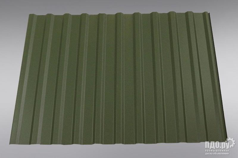 из наличия Профлист,профнастил в Липецке Рал 6020 Хромовый зеленый