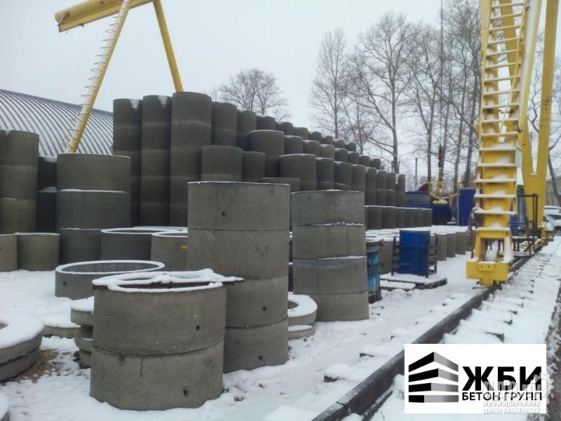 Колодец КЦД 10-9ч Кольцо бетонное с дном в Ступино