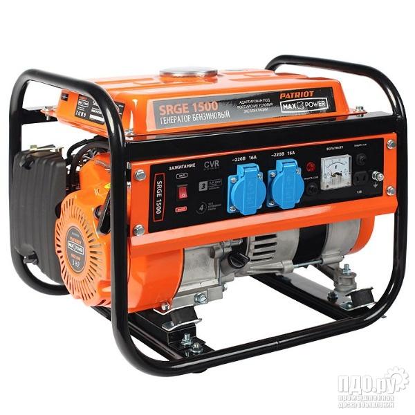 Бензиновый генератор Patriot Max Power SRGE-1500