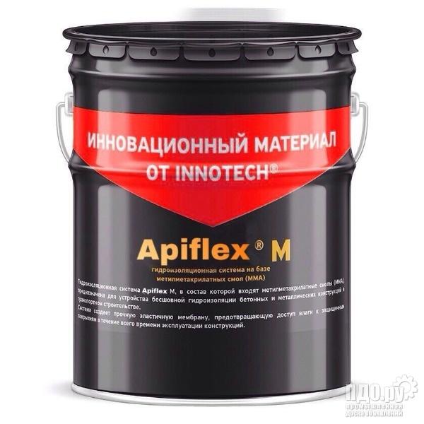 АПИФЛЕКС М гидроизоляционная система на базе метилметакрилатных смол ММА для объектов ПГС 20 кг