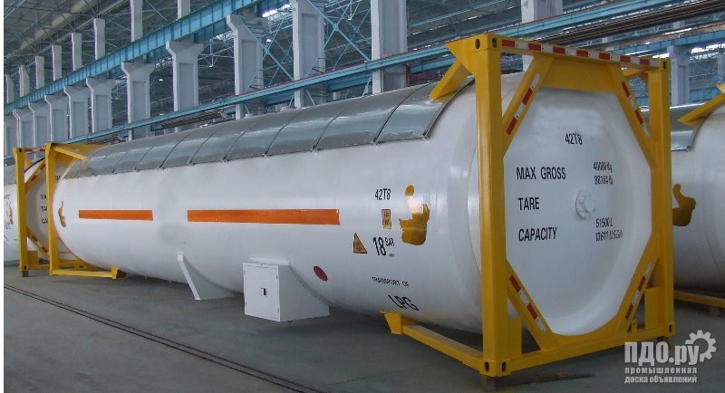 Танк-контейнер Т50 новый 52 м3 для LPG