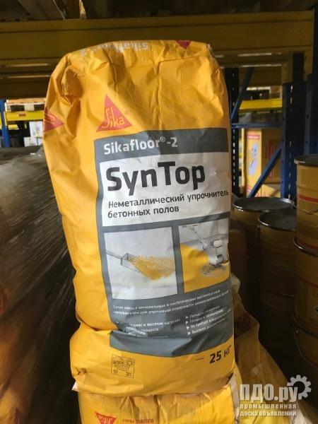 Sikafloor-2 SynTop. Упрочнитель бетонной поверхности