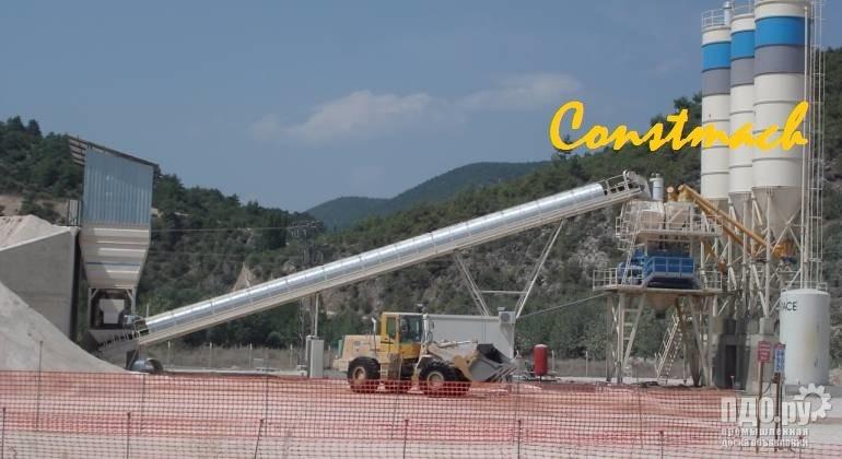 Constmach 120 м3 / ч стационарный бетонный завод - 2 ЛЕТ ГАРАНТИЯ