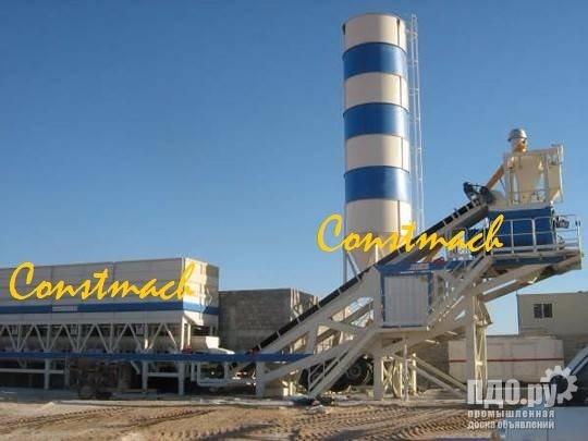 Constmach 120 м3 / ч Мобильный бетонный завод