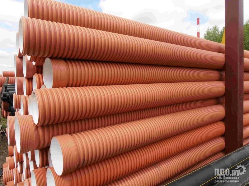 Трубы из полипропилена для наружной и ливневой канализации
