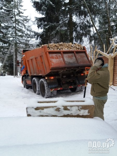 Дрова Берёзы в Шеломово, Московская область, Наро-Фоминский район.