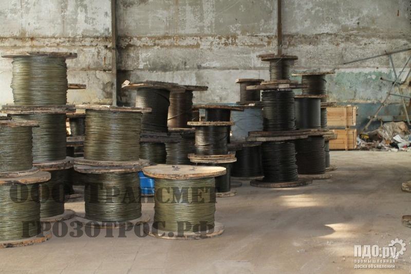 Канаты стальные со склада,отмот от 1 п/м