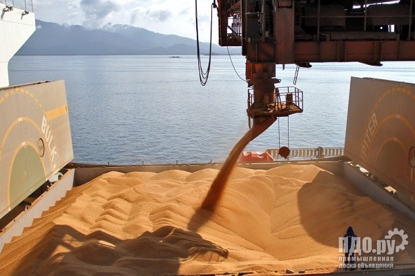 Wheat food - 35000 tons - to China