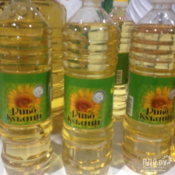 Подсолнечное масло РДВ ГОСТ высший сорт с завода