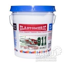 Эластомерик 911 Гидробарьер RAL 3003 красный рубин 20 кг