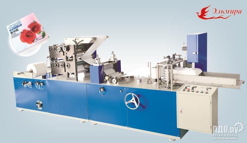 Оборудование для производства салфеток с печатью
