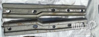 Переходная стыковая накладка для рельс Р65/Р50,Р50/Р43