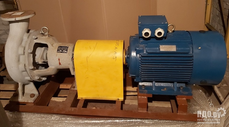 Насос химический Х150-125-315а-А-5-У3 с электродвигателем 37кВт.