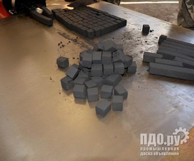 Пресс шнековый ПШ-500Б, брикетировщик древесного, кокосового угля