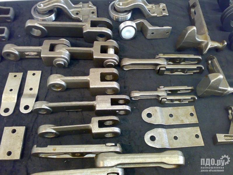Подвесной конвейер ГН-100р, каретки, цепи тяговые Р1,Р2, редукторы КДВ