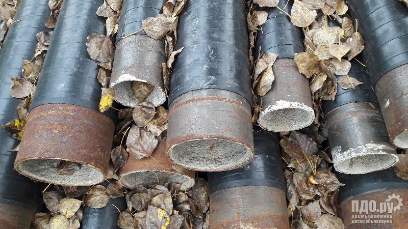 Трубы лежалые 108-159мм, в изоляции ВУС,  ЦПИ