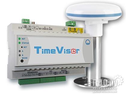 Сервер единого времени TimeVisor с новой антенной