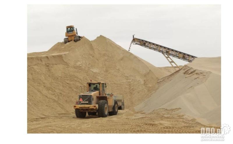 Песок строительный сеяный карьерный намывной