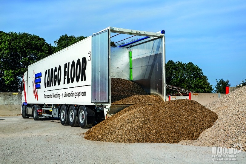 Ремонт прицепов,полуприцепов щеповозов Cargo Floor