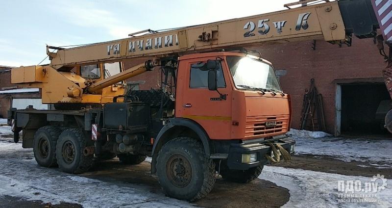 Автокран 25т галичанин на базе Камаз 43118