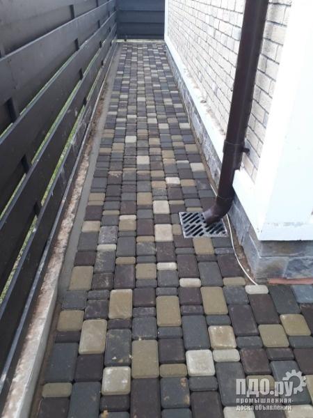 Тротуарная плитка Старый город - Брук