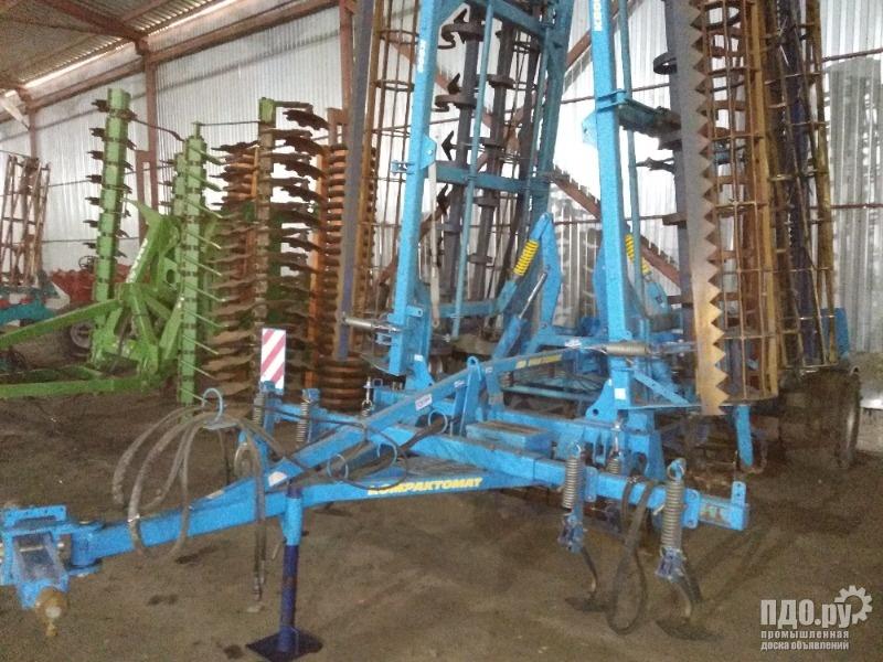 Культиватор Компактомат K800PS Farmet 6 м