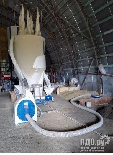 Пневмопылесос, Вакуумный погрузчик зерна
