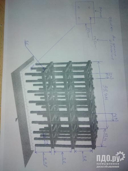 АБК 12.4х40х11м трех этажное здание из металла