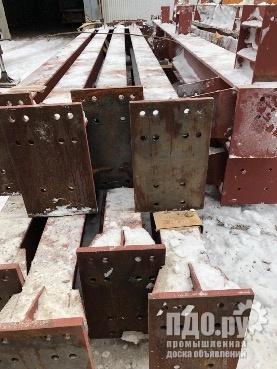 Балка - Колонны - Стойки для ангаров металлоконструкции