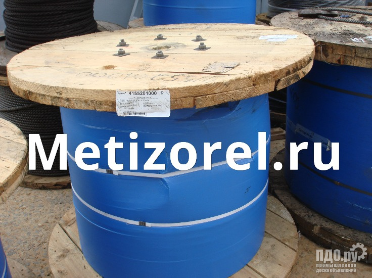 Канат стальной ГОСТ 3062 80 ф 0,65 11,5 мм для растяжки и такелажа