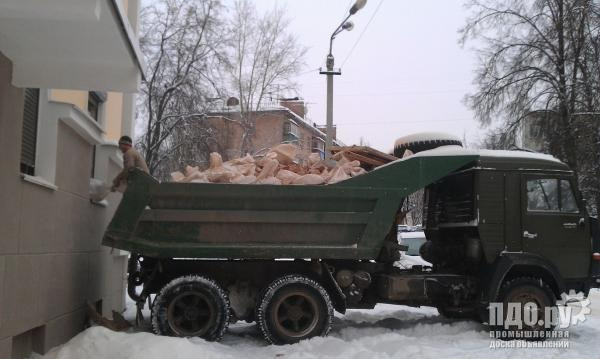 КамАЗ самосвал для вывоза мусора в Нижнем Новгороде