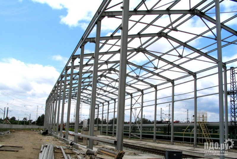 Металлоконструкция, склад, ангар, здание, цех