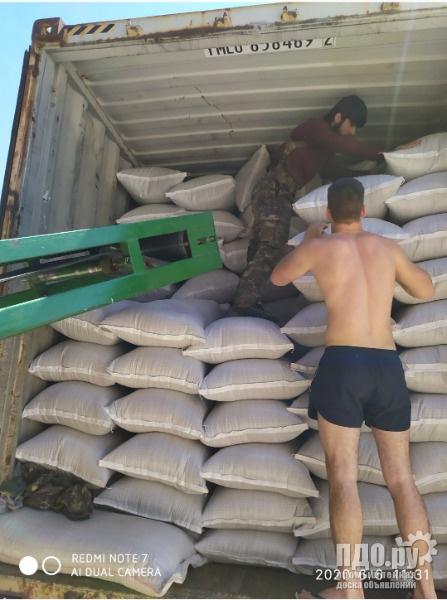 Фасовка зерна в мешки и биг-бег на Вашем складе
