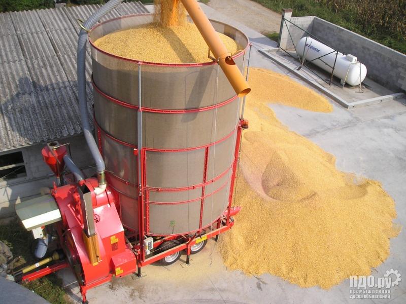 Аренда зерносушилки дешево высушить зерно Вашем хозяйстве!