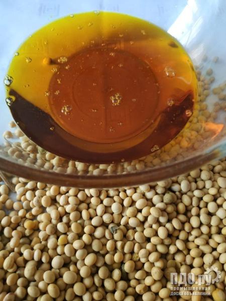 Соевое масло нерафинированное наливом объемы