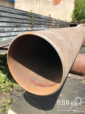 Трубу б/у ф720х18 п/ш под лежак по 37т.р./т. в г. Оренбург
