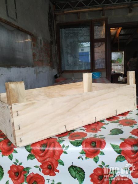 Ящики для фруктов и овощей из осины